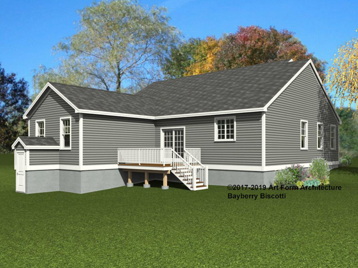 Stroudwater Preserve Bayberry Biscotti Rendering Back