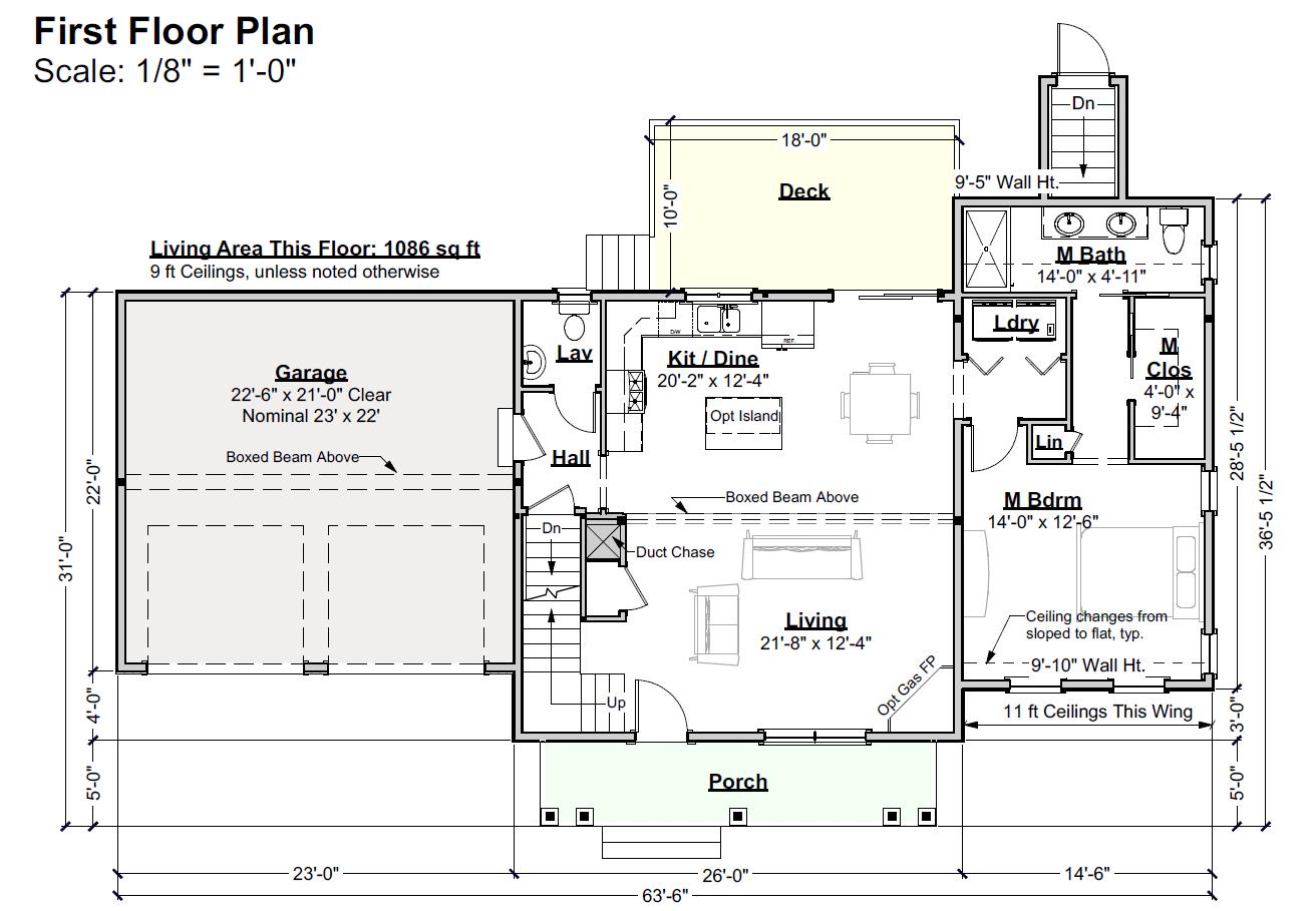 Stroudwater Preserve Cottage Divan 1st Floor