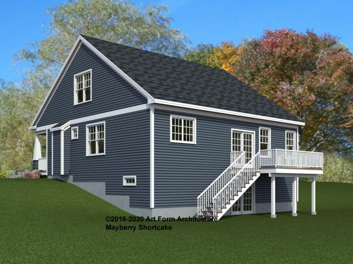 Stroudwater Preserve Mayberry Rendering Back